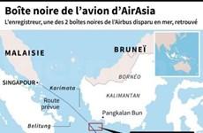 AirAsia: une des deux boites noires repêchée, la seconde localisée