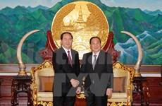 Le ministre vietnamien de la Sécurité publique en mission au Laos