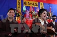 Art traditionnel: un programme pour honorer le hat xâm à Hanoi
