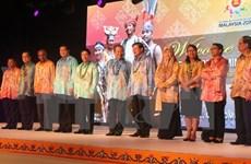 ASEAN : réception en Malaisie à l'occasion de l'AMM Retreat