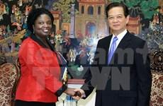 Le PM et la directrice de la BM discutent de la réforme administrative
