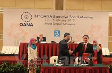 La VNA à la conférence du Comité exécutif de l'OANA