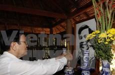 Le chef de l'Etat formule ses vœux du Têt à Tay Ninh et Binh Duong