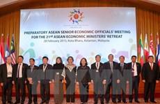 21e conférence restreinte des ministres de l'Economie de l'ASEAN