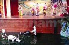 Quand le chèo et les marionnettes sur l'eau se croisent sur scène