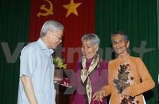 Le secrétaire général du PCV en visite à Soc Trang