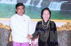 Vietnam-Myanmar: renforcement des relations bilatérales
