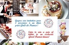 """La gastronomie française au Vietnam avec """"Goût de France"""""""