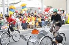 Une course de cyclo-pousse «pour la bonne cause» à Hô Chi Minh-Ville