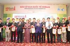 Ouverture du Championnat international d'échecs HDBank 2015