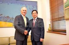 Communication : Vietnam et Australie accroissent leur coopération