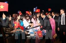 Le PM rencontre la diaspora vietnamienne en Australie