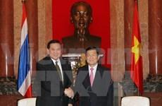 Le chef de l'État plaide pour les liens Vietnam-Thaïlande