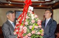 L'ambassadeur du Vietnam au Laos présente ses voeux au PPRL
