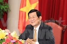 Le président du Vietnam s'envole pour le Laos