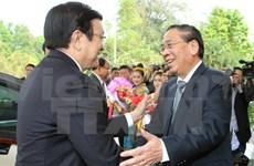 Succès de la visite de travail du chef de l'Etat vietnamien au Laos