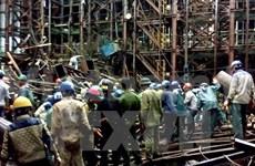 Tragique accident sur le chantier Formosa à Ha Tinh