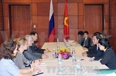 Promotion de la coopération Vietnam-Russie et Vietnam-Italie