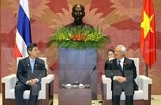 IPU-132: un vice-président de l'AN reçoit les délégations thaïlandaise et irakienne