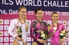 La gymnaste Phan Thi Ha Thanh titrée au World Challenge Cup Doha