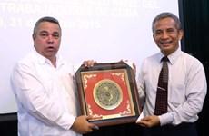 Vietnam et Cuba renforcent la coopération syndicale
