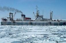 Naufrage d'un chalutier de pêche : message de sympathie au président russe