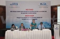 Assurer les intérêts des travailleuses vietnamiennes à l'étranger