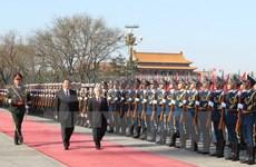 Vietnam-Chine : entretien entre les leaders du PCV et du PCC