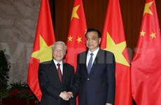 Nguyen Phu Trong rencontre des dirigeants chinois