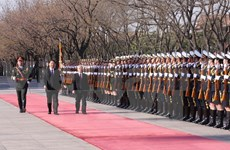 Large couverture de la visite officielle du leader du PCV par la presse chinoise