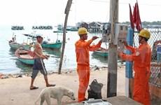 L'unique commune insulaire de HCM-V reliée au réseau électrique national