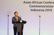 Activités du président vietnamien au Sommet afro-asiatique