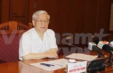 Le chef du Parti demande de gros efforts dans la lutte anti-corruption