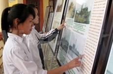 Exposition «Hoàng Sa, Truong Sa du Vietnam - les preuves historiques et juridiques» à Ninh Binh