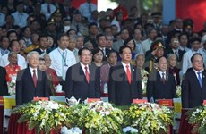 Grande célébration de la Victoire du 30 avril à Hô Chi Minh-Ville