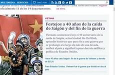 Le 40e anniversaire de la libération du Sud couverte par la presse étrangère