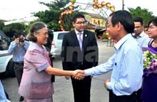 La princesse thaïlandaise en visite de travail à Quang Nam