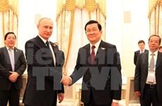 Entretien Truong Tan Sang-Vladimir Poutine