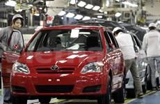 Bond des ventes de voitures en avril
