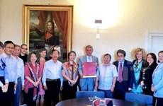 Echange d'expériences avec le parlement de Saint-Marin