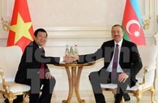 Entretien Truong Tan Sang-Ilham Alyev