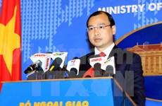 Le Vietnam salue les efforts internationaux pour la paix en Mer Orientale