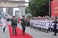 Vietnam-Chine : entretien entre les deux ministres de la Défense