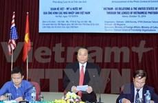 Concours: les relations Vietnam-États-Unis en grand format