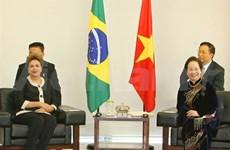 Vietnam et Brésil veulent renforcer leur partenariat intégral