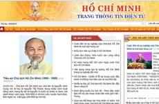 Inauguration d'un site Internet dédié au Président Ho Chi Minh