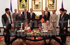 France et Cambodge renforcent la coopération bilatérale