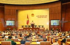 Première journée de travail de la 9e session de l'Assemblée nationale
