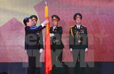 Nguyên Tân Dung au 40ème anniversaire de l'hôpital militaire 175