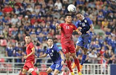 Mondial-éliminatoires: le Vietnam s'incline 1-0 face à la Thaïlande